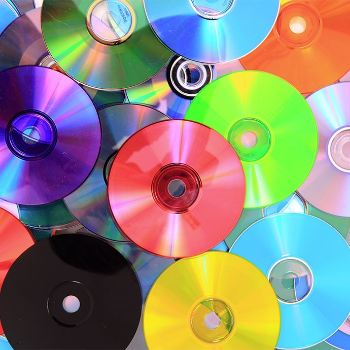 CD, DVD & Bluray